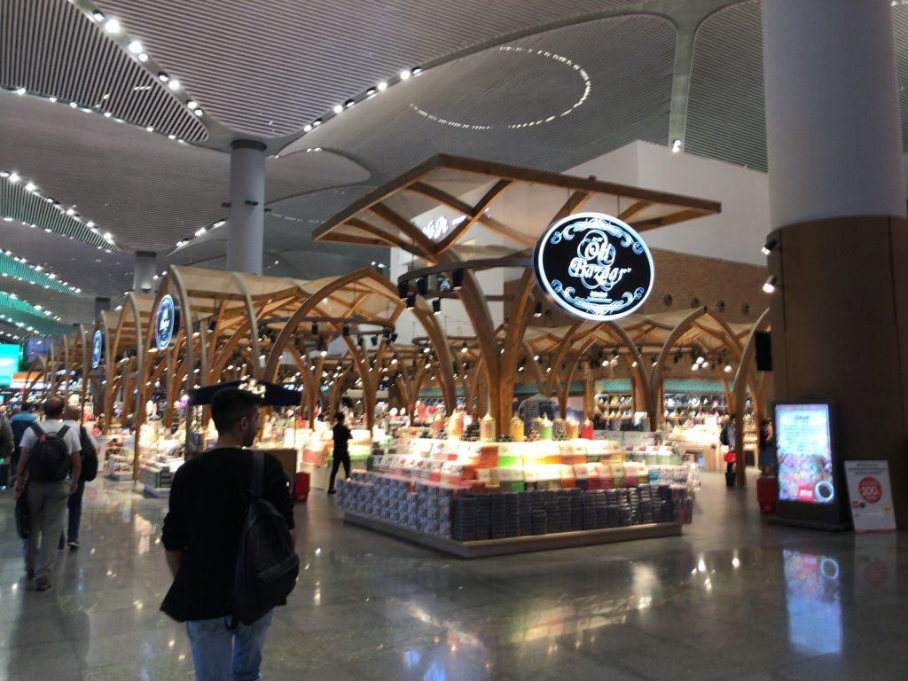 イスタンブール新空港 お土産店